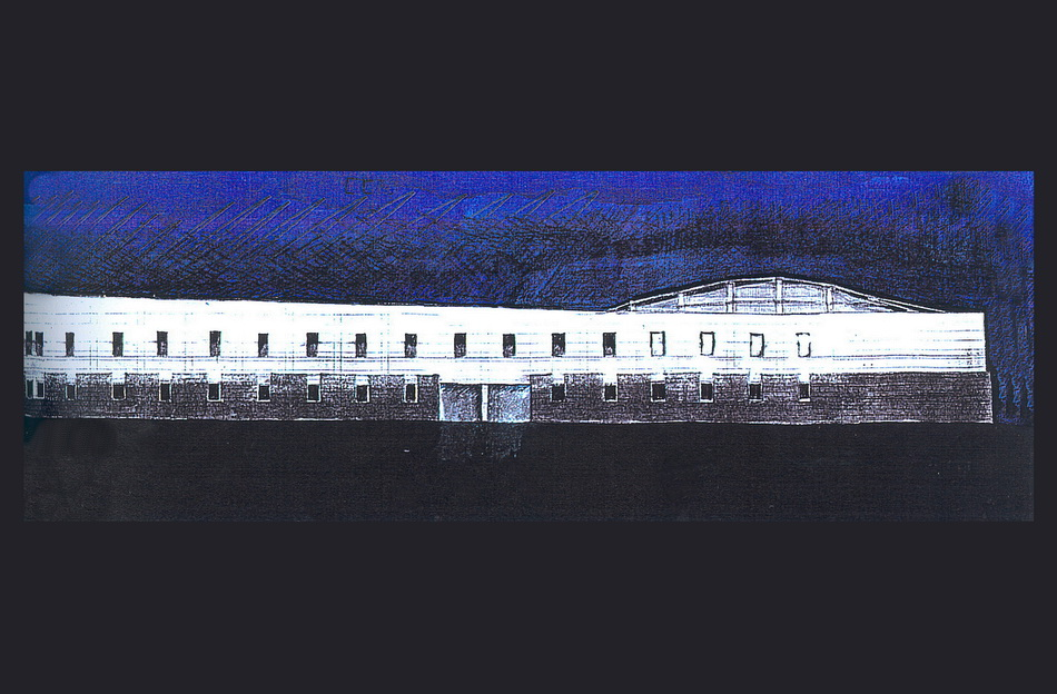 Naxos Townhall - Architectural competition. Cyclades
