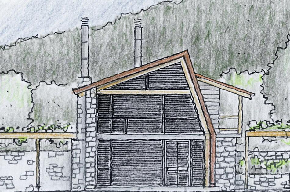 Mountain refuge, Evritania