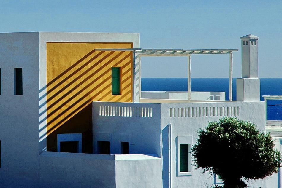 Touristic houses. Lahania, Rhodes